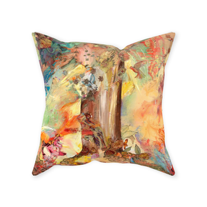 Sewn Throw Pillows - Tree of Knowledge