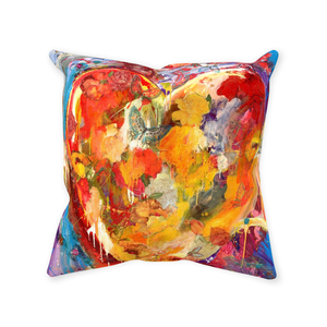 Sewn Throw Pillows - Heart of Hearts