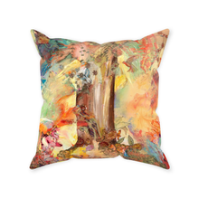 Load image into Gallery viewer, Sewn Throw Pillows - Tree of Knowledge