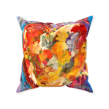 Load image into Gallery viewer, Zippered Throw Pillows - Heart of Hearts