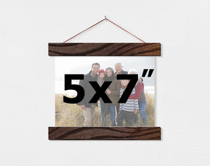 "5x7"" Landscape Orientation Custom Canvas - Hanger Frames"