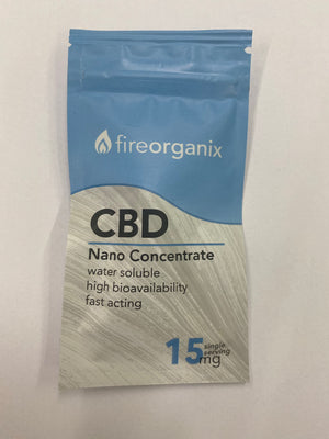 Fire Organix CBD Nano Concentrate