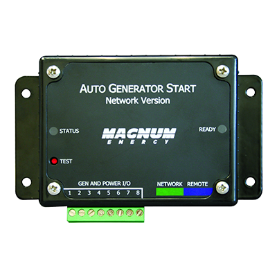 MAGNUM ENERGY AUTO GEN START-NETWORK