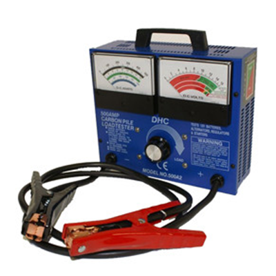 HD BATTERY TESTER 500 AMP 12V - I&M Electric