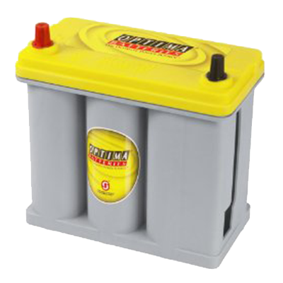 OPTIMA® Batteries 8073-167 D51R YELLOWTOP® Starting & Deep-Cycle Battery (Reversed Post)