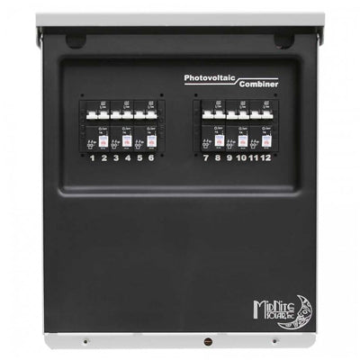 MidNite 12 Port Combiner Box - I&M Electric