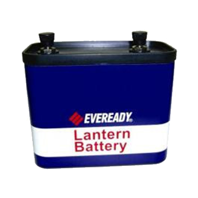 BATTERY LANTERN 12V STUD CARBON ENERGIZER - I&M Electric