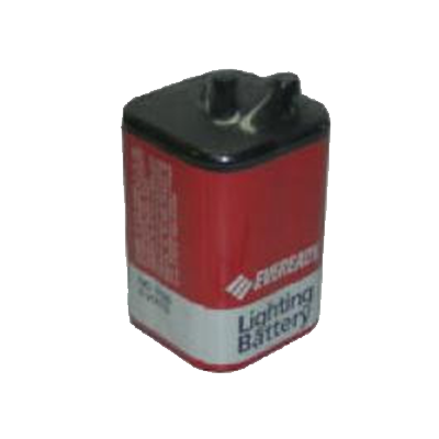 BATTERY LANTERN 6V SCREW CARBON EVEREADY - I&M Electric