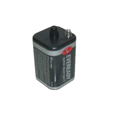 BATTERY LANTERN 6V SPRING CARBON EVEREADY - I&M Electric