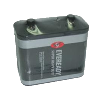 BATTERY LANTERN 6V STUD CARBON EVEREADY