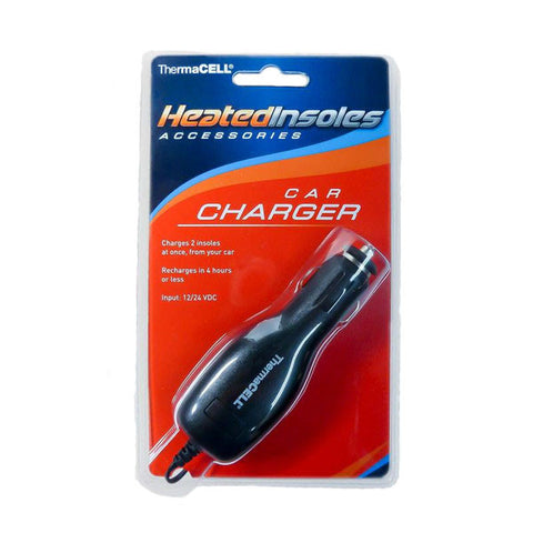 HEATED INSOLES CAR CHARGER