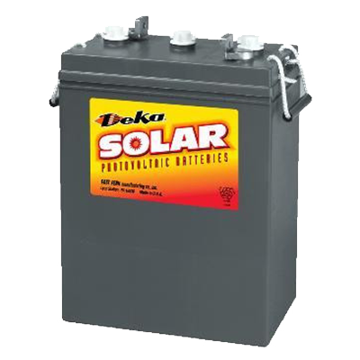 Solar - 8L16 BATTERY - 6 VOLT 370 A/H - I&M Electric
