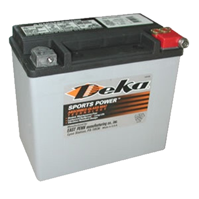 Pow-R-Surge / DEKA ETX16L Power Sports Battery - I&M Electric