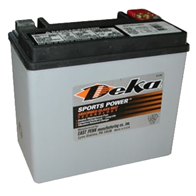Pow-R-Surge / DEKA ETX16  Power Sports Battery - I&M Electric
