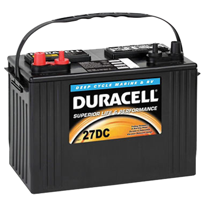 Duracell 174 Marine Battery 27dc I Amp M Electric