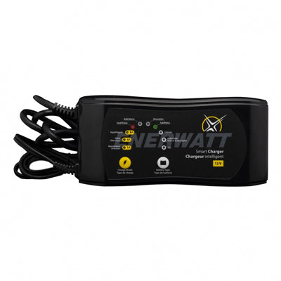 Enerwatt Automatic Battery Charger 12V 1/4/8A