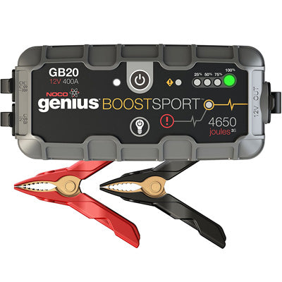 NOCO GB20 Genius Boost Sport Jump Starter 12V 400A - I&M Electric