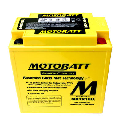Motobatt MBTX16U - I&M Electric