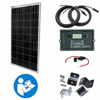 'Morning Sunrise' - 150 Watt RV Kit