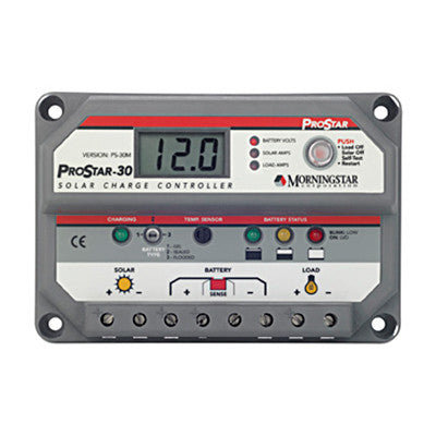 Morningstar ProStar PS-30M Controller 30 Amp with digital display