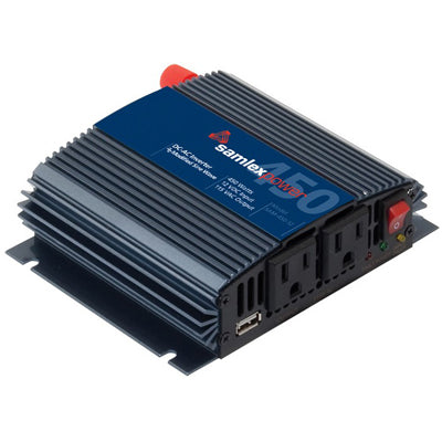 SAMLEX INVERTER 12VCC/115VCA 450W MODIFIED SINE WAVE