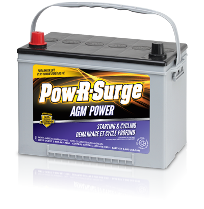 Pow-R-Surge 27 AGM BATTERY 12 VOLT -  92AH
