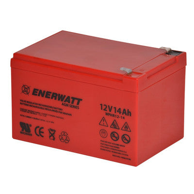 Enerwatt WPHR12-14 BATT AGM 12V 14AH HIGH RATE