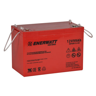 Enerwatt WPHR12-99 BATT AGM 12V 99AH HIGH RATE