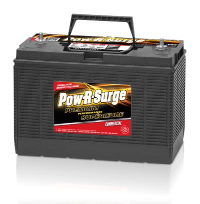 POW-R-SURGE BATTERY SERIES 31 STUD - 12 VOLT - I&M Electric