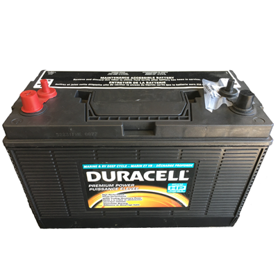 Duracell 174 Marine Battery Group Size 31 I Amp M Electric
