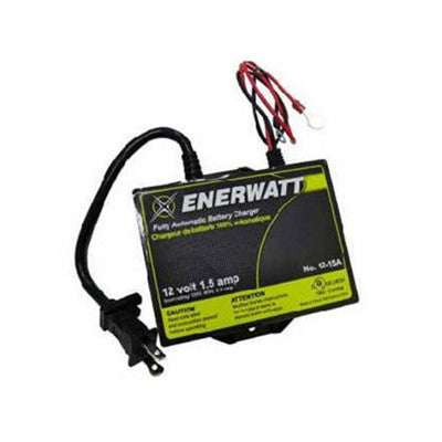 CHARGER 12V 1.5A AUTOMATIC ENERWATT - I&M Electric