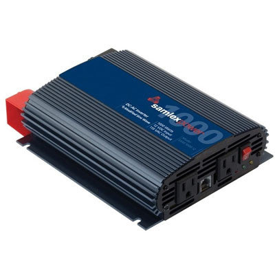 SAMLEX POWER INVERTER 12VCC/115VCA 1000W MODIFIED SINE WAVE - I&M Electric