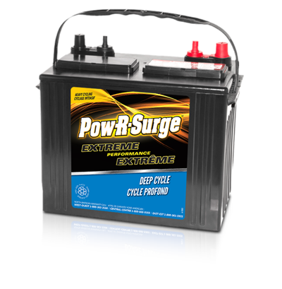 POW-R-SURGE DC24 MARINE SERIES BATTERY 12 VOLT - DEEP CYCLE