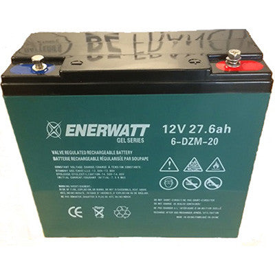 Enerwatt 12 volt Gel battery 27AH - I&M Electric