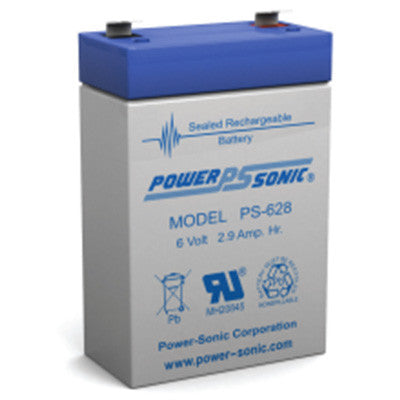 Power Sonic 6 volt AGM 2.9AH sealed - I&M Electric