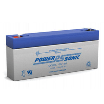 Power Sonic 12 volt 2.9AH battery