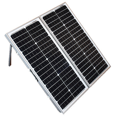Portable Foldable Solar Kit - 100 Watt - I&M Electric