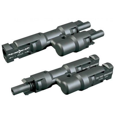 MC4 MALE + FEMALE Y SPLITTERS FOR SOLAR PANEL - I&M Electric