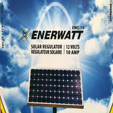 ENERWATT 10 AMP SOLAR REGULATOR - I&M Electric