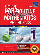 Load image into Gallery viewer, Solve Non-Routine Real World Mathematics Problems Workbook 1