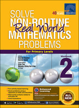 Load image into Gallery viewer, Solve Non-Routine Real World Mathematics Problems Workbook 2