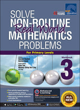 Load image into Gallery viewer, Solve Non-Routine Real World Mathematics Problems Workbook 3
