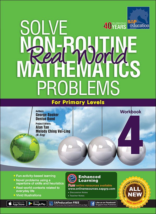 Solve Non-Routine Real World Mathematics Problems Workbook 4