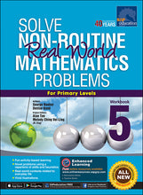 Load image into Gallery viewer, Solve Non-Routine Real World Mathematics Problems Workbook 5