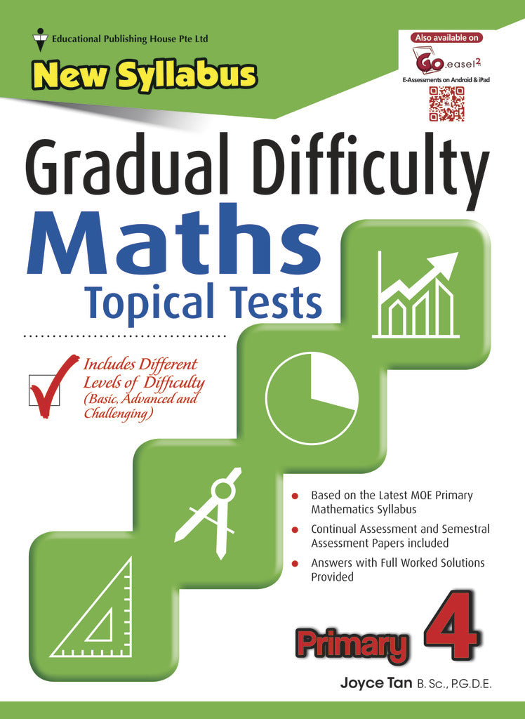 Gradual Difficulty Maths Topical Tests (Primary 4)
