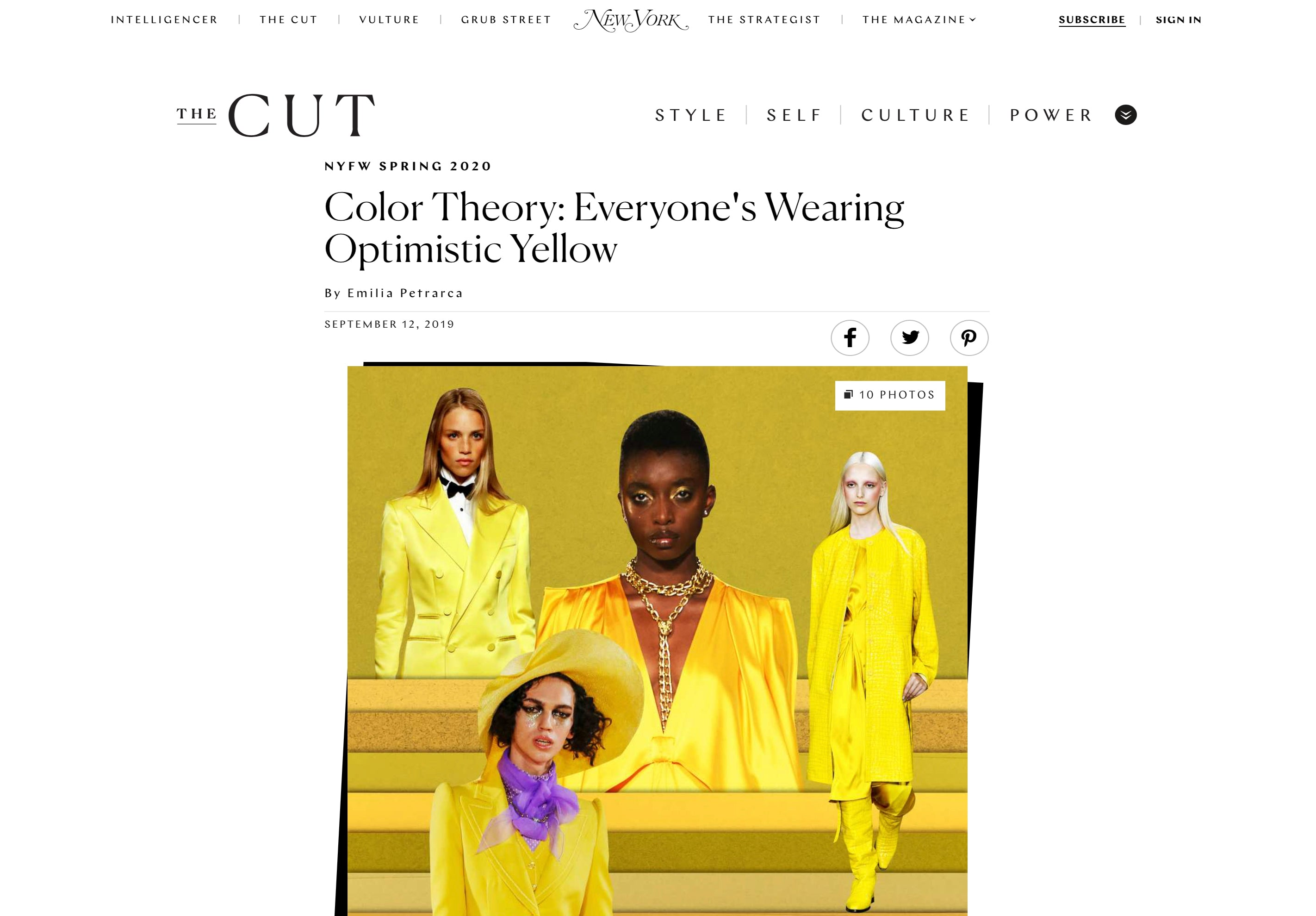 Susan Alexandra Featured on The Cut