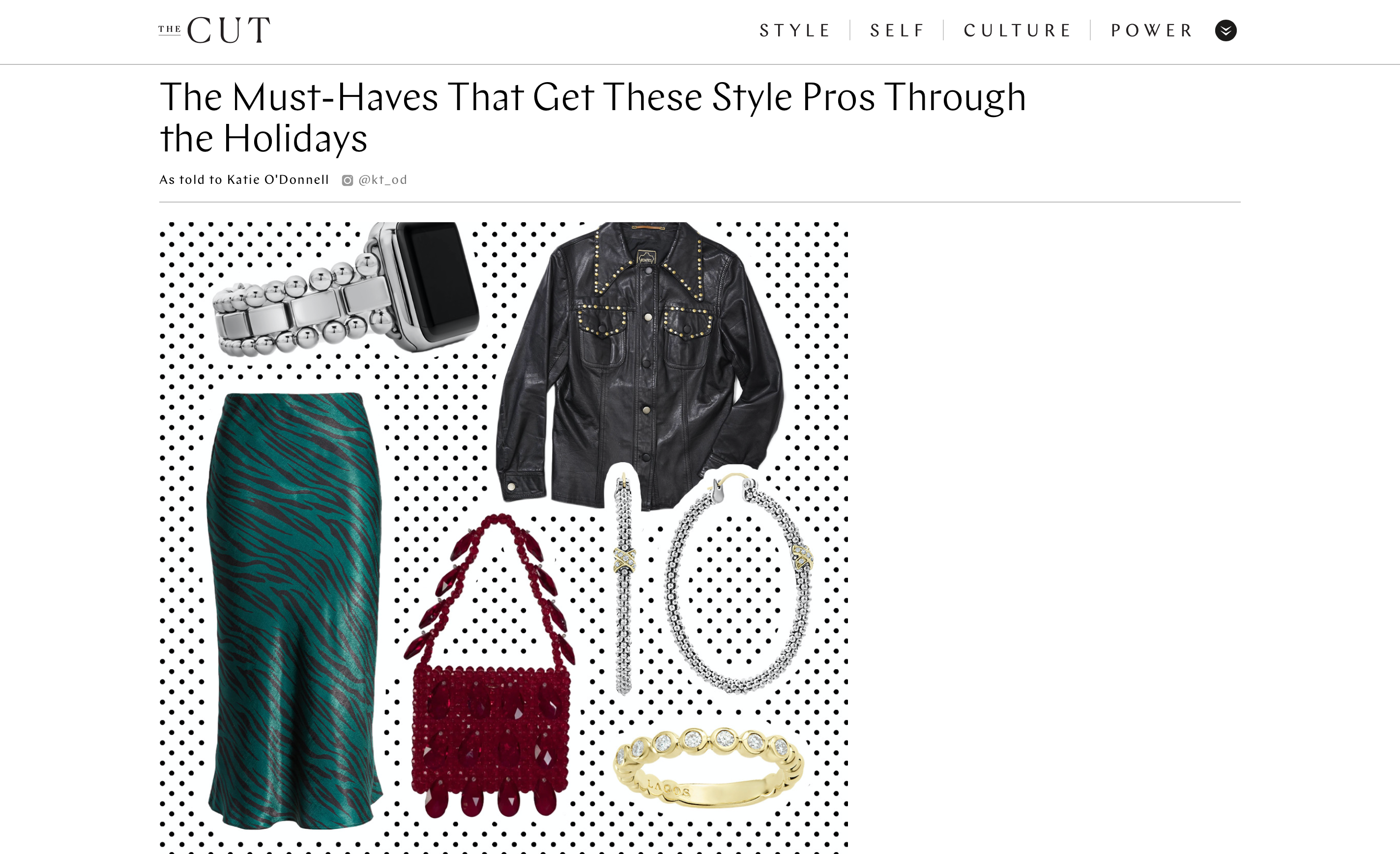 The Ruby Bag on TheCut.com