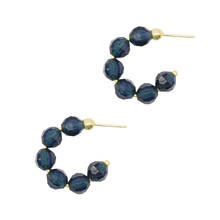 Load image into Gallery viewer, Birthstone Hoops