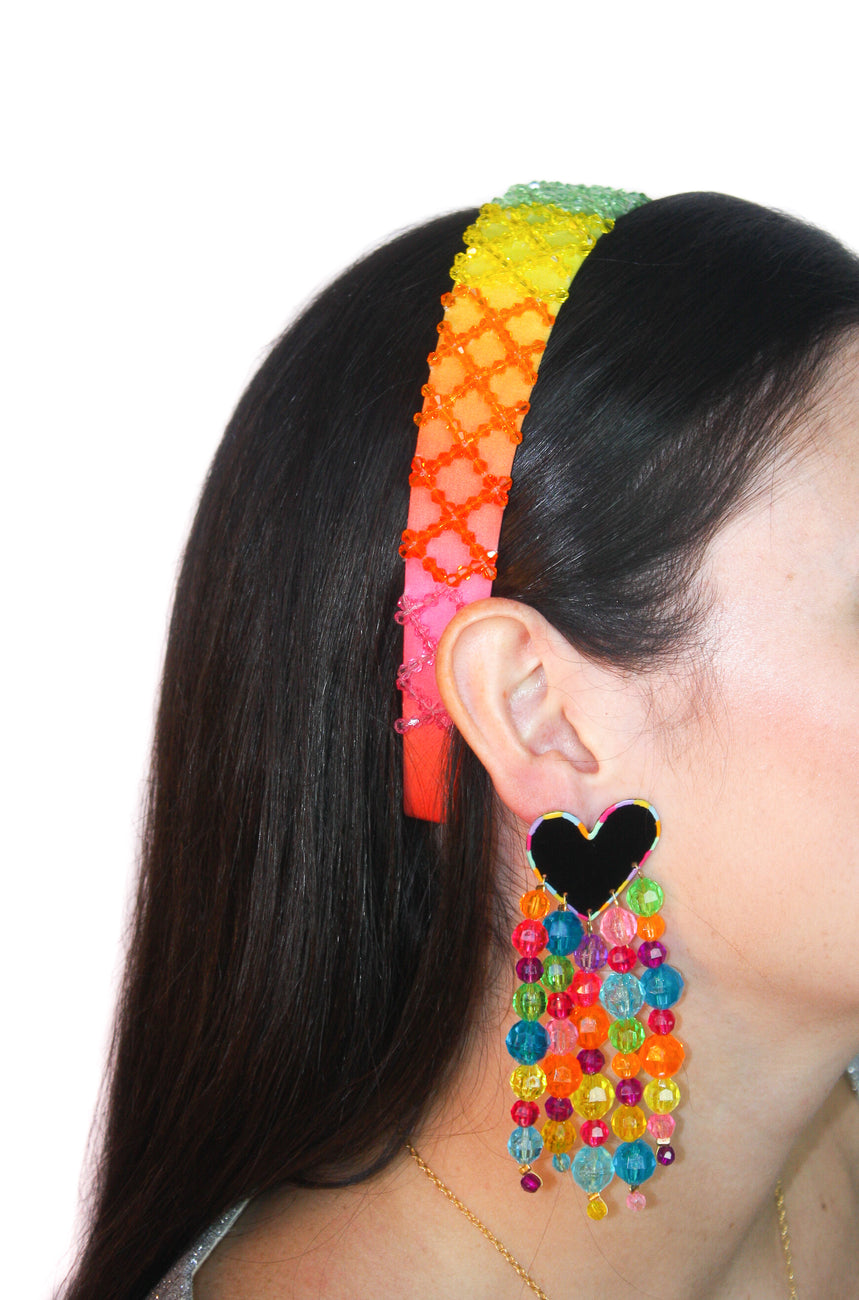 Rainbow Ombré Headband