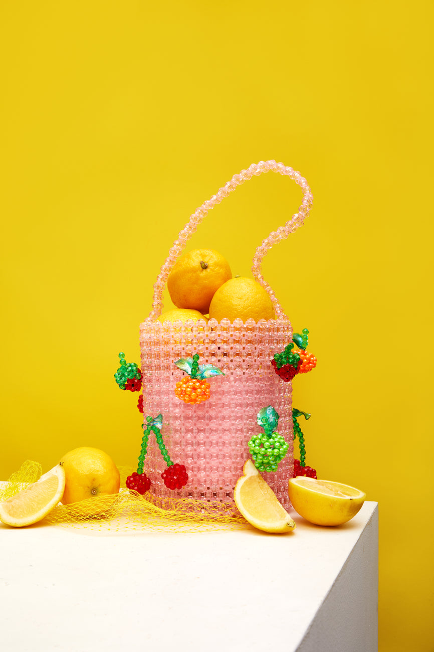 Fruit Salad Bucket Bag